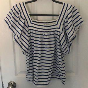 J Crew striped shirt